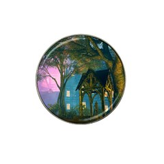 Background Forest Trees Nature Hat Clip Ball Marker (4 Pack) by Nexatart