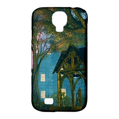 Background Forest Trees Nature Samsung Galaxy S4 Classic Hardshell Case (pc+silicone) by Nexatart