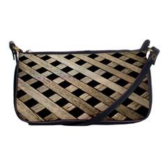 Texture Wood Flooring Brown Macro Shoulder Clutch Bags by Nexatart