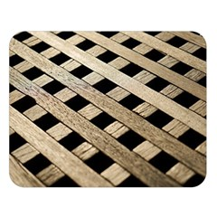 Texture Wood Flooring Brown Macro Double Sided Flano Blanket (large)  by Nexatart