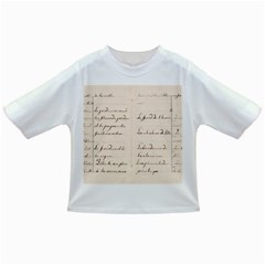 German French Lecture Writing Infant/toddler T Shirts by Nexatart