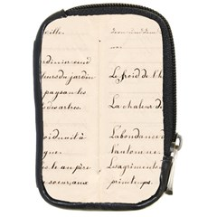 German French Lecture Writing Compact Camera Cases by Nexatart