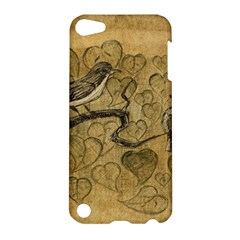 Birds Figure Old Brown Apple Ipod Touch 5 Hardshell Case by Nexatart