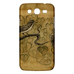 Birds Figure Old Brown Samsung Galaxy Mega 5 8 I9152 Hardshell Case  by Nexatart