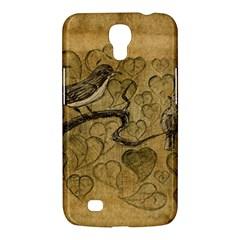 Birds Figure Old Brown Samsung Galaxy Mega 6 3  I9200 Hardshell Case by Nexatart