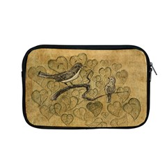 Birds Figure Old Brown Apple Macbook Pro 13  Zipper Case by Nexatart