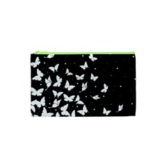 Butterfly Pattern Cosmetic Bag (xs) by Valentinaart