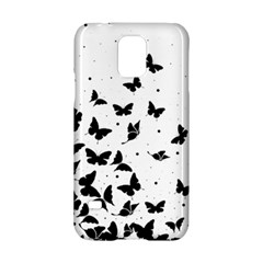 Butterfly Pattern Samsung Galaxy S5 Hardshell Case  by Valentinaart