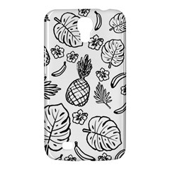 Tropical Pattern Samsung Galaxy Mega 6 3  I9200 Hardshell Case by Valentinaart