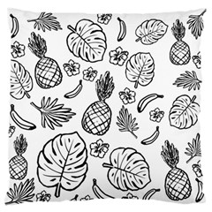 Tropical Pattern Standard Flano Cushion Case (one Side) by Valentinaart
