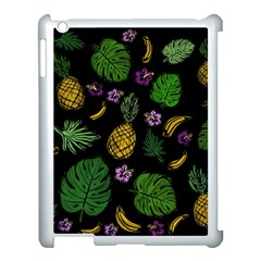 Tropical Pattern Apple Ipad 3/4 Case (white) by Valentinaart