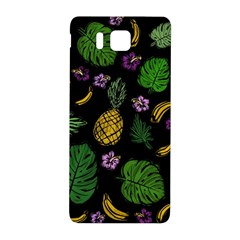 Tropical Pattern Samsung Galaxy Alpha Hardshell Back Case by Valentinaart