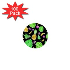 Tropical Pattern 1  Mini Buttons (100 Pack)  by Valentinaart