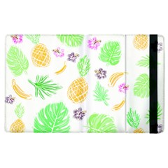 Tropical Pattern Apple Ipad 3/4 Flip Case by Valentinaart