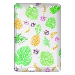 Tropical Pattern Amazon Kindle Fire Hd (2013) Hardshell Case by Valentinaart