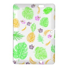 Tropical Pattern Kindle Fire Hdx 8 9  Hardshell Case by Valentinaart