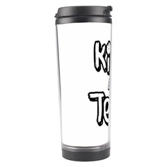 Kiss And Tell Travel Tumbler by Valentinaart