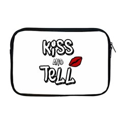 Kiss And Tell Apple Macbook Pro 17  Zipper Case by Valentinaart