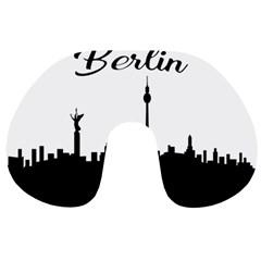 Berlin Travel Neck Pillows by Valentinaart