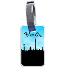 Berlin Luggage Tags (one Side)  by Valentinaart