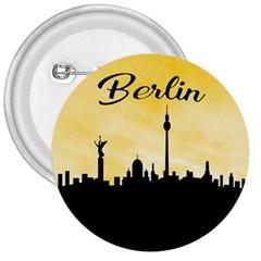 Berlin 3  Buttons by Valentinaart