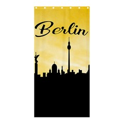 Berlin Shower Curtain 36  X 72  (stall)  by Valentinaart