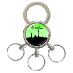 Berlin 3 Ring Key Chains by Valentinaart