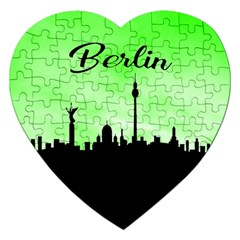 Berlin Jigsaw Puzzle (heart) by Valentinaart