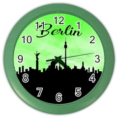 Berlin Color Wall Clocks by Valentinaart