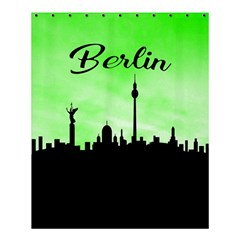 Berlin Shower Curtain 60  X 72  (medium)  by Valentinaart