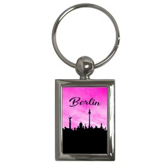 Berlin Key Chains (rectangle)  by Valentinaart
