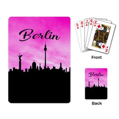Berlin Playing Card by Valentinaart