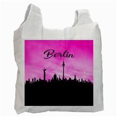 Berlin Recycle Bag (one Side) by Valentinaart