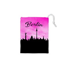 Berlin Drawstring Pouches (xs)  by Valentinaart