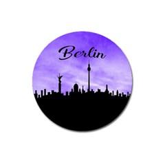 Berlin Magnet 3  (round) by Valentinaart