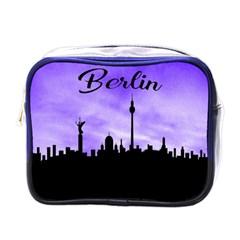 Berlin Mini Toiletries Bags by Valentinaart