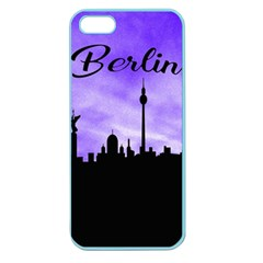 Berlin Apple Seamless Iphone 5 Case (color) by Valentinaart