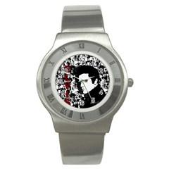 Elvis Presley Stainless Steel Watch by Valentinaart