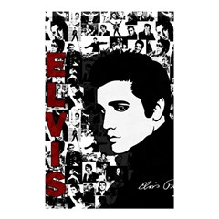 Elvis Presley Shower Curtain 48  X 72  (small)  by Valentinaart