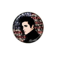 Elvis Presley Hat Clip Ball Marker (4 Pack) by Valentinaart