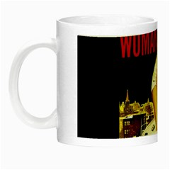 Attack Of The 50 Ft Woman Night Luminous Mugs by Valentinaart