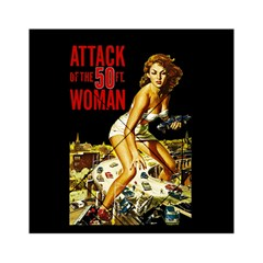 Attack Of The 50 Ft Woman Acrylic Tangram Puzzle (6  X 6 ) by Valentinaart
