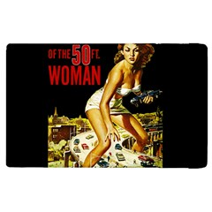 Attack Of The 50 Ft Woman Apple Ipad 3/4 Flip Case by Valentinaart
