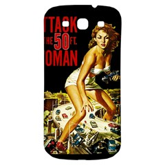 Attack Of The 50 Ft Woman Samsung Galaxy S3 S Iii Classic Hardshell Back Case by Valentinaart