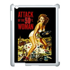 Attack Of The 50 Ft Woman Apple Ipad 3/4 Case (white) by Valentinaart