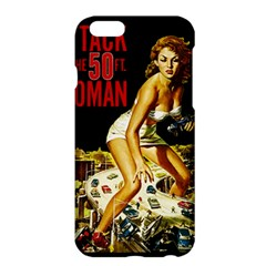 Attack Of The 50 Ft Woman Apple Iphone 6 Plus/6s Plus Hardshell Case by Valentinaart