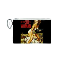 Attack Of The 50 Ft Woman Canvas Cosmetic Bag (s) by Valentinaart