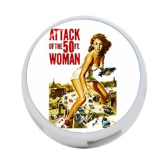 Attack Of The 50 Ft Woman 4 Port Usb Hub (one Side) by Valentinaart