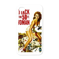 Attack Of The 50 Ft Woman Apple Iphone 4 Case (white) by Valentinaart