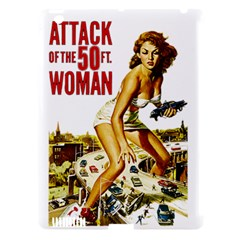 Attack Of The 50 Ft Woman Apple Ipad 3/4 Hardshell Case (compatible With Smart Cover) by Valentinaart